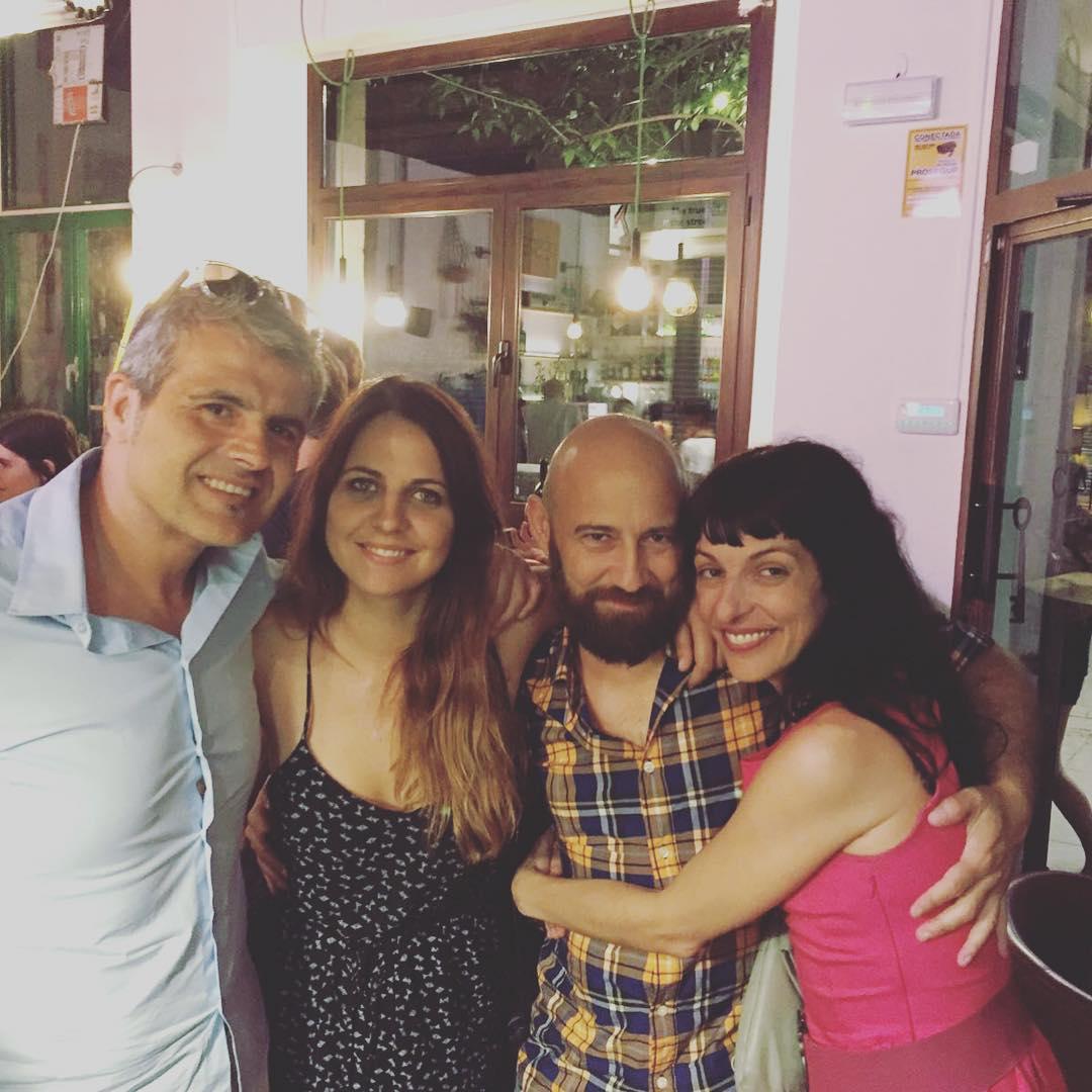 Gran noche! ;)) Con Marco della Porta, Lidia Guevara y Maurizio ...