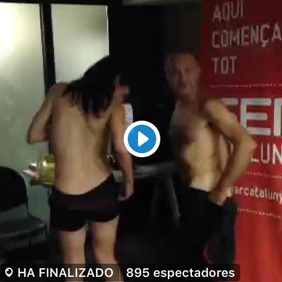 Avui vespre, de 22h a 01:00h, seré a @lanit31416 Aquí podeu veure striptease de la setmana passada ;)) #amillspublicwc