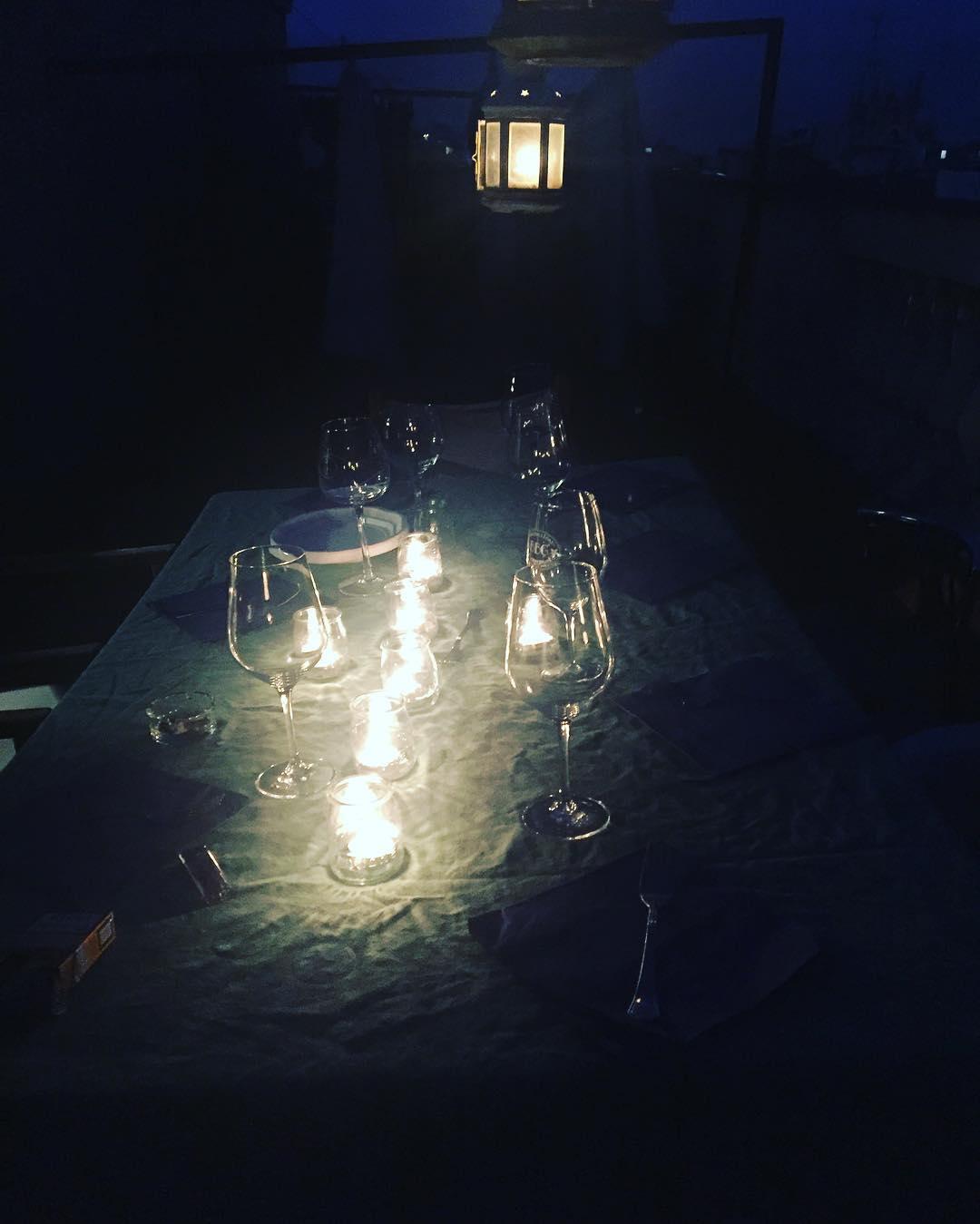 Julio y cena en la terraza? Sí!!