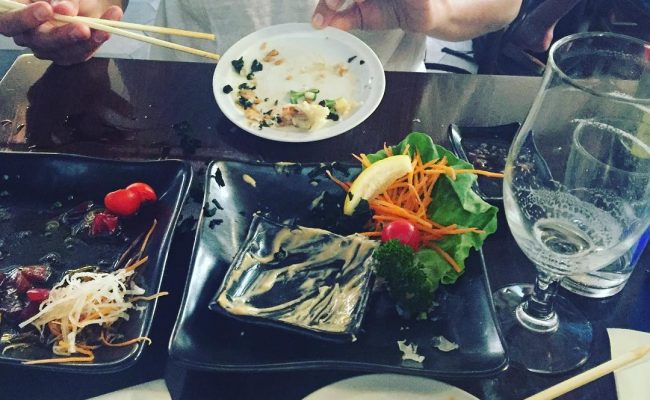 Hemos comido tan bien que se nos ha olvidado hacer la #fotomona para instagram ;))