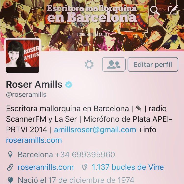 """Ves el simbolito """"v""""? #twitter acaba de verificar mi cuenta #albricias!!!"""