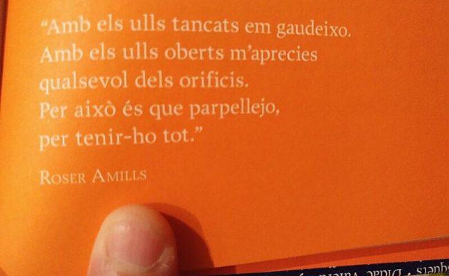 Si un dia algú cita un poema teu… Gracis Xavi Pereira per compartir aquest de #morbo de 2010 !!!