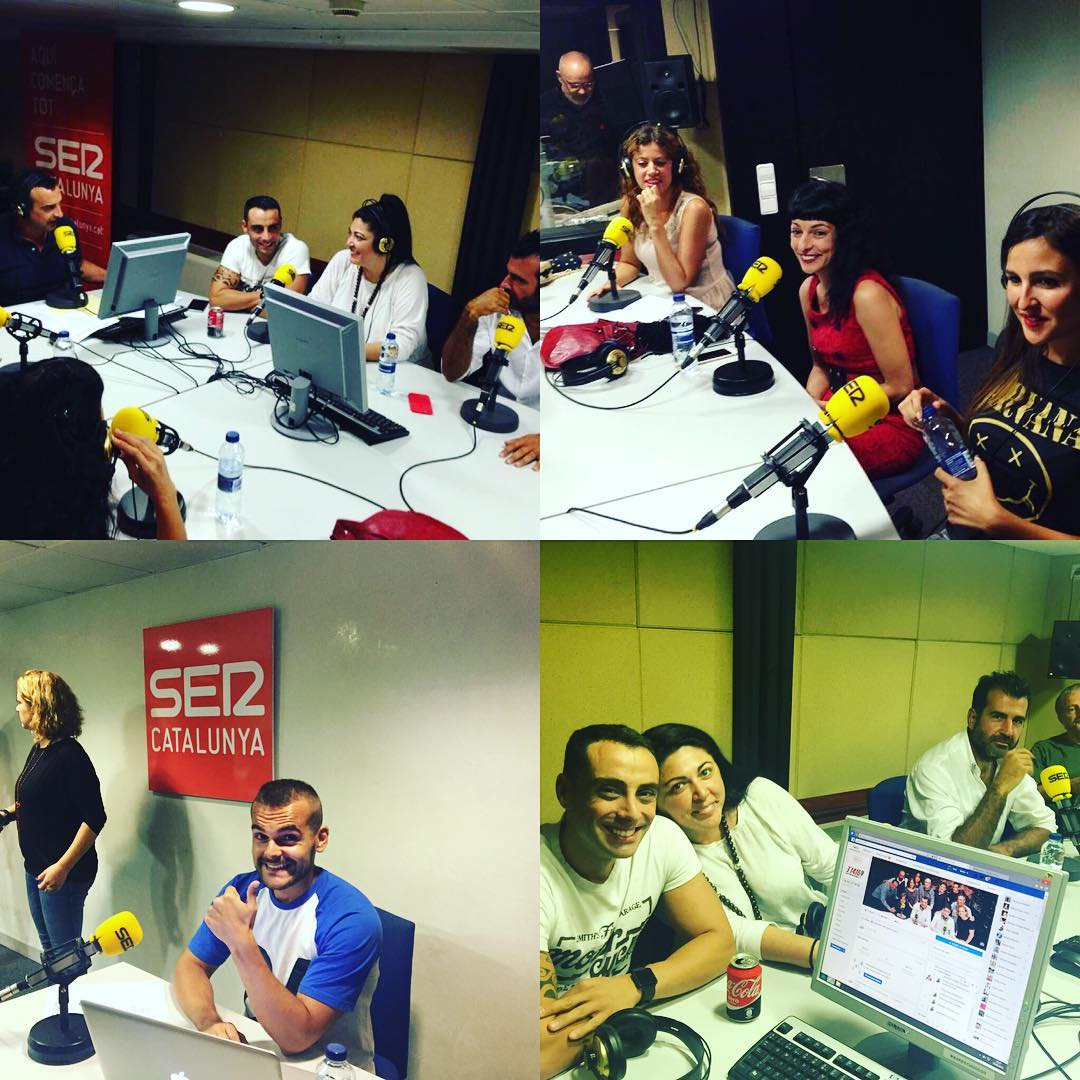 En @lanit31416 las sonrisas son a granel @la_ser #sercat #31416lanitquenosacaba #radio #risas #humor #tonimarin #pictoftheday #working #news #happyday #friends #moment #lanit131416
