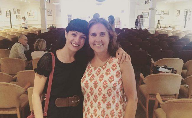 Gracias Malena por elegir #labachillera entre tus lectura en las #conversesformentor2016 ;))
