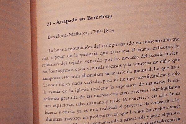 Gracias Josep Estape per llegir #labachillera!!