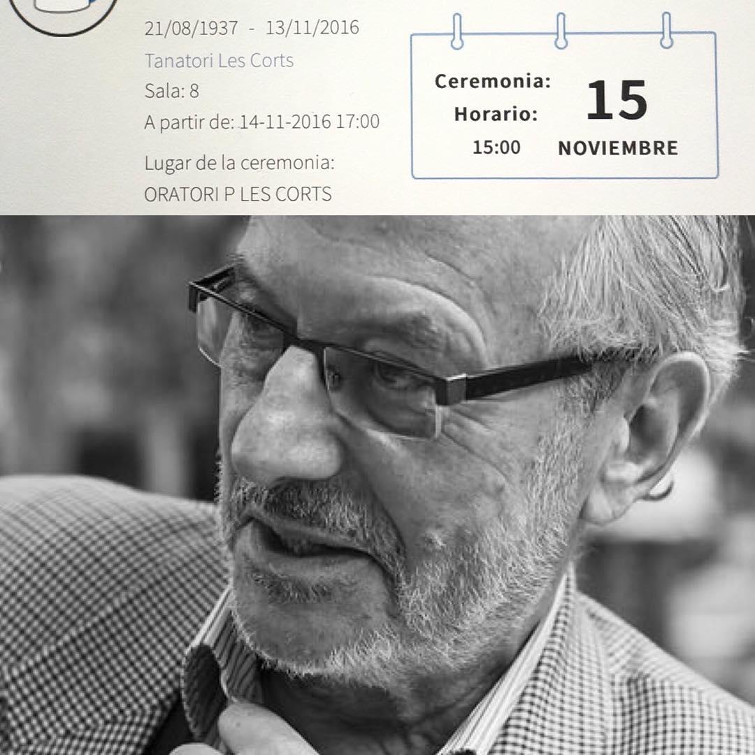 Ivan Tubau (Barcelona, 1937-2016)   Dencanse en paz