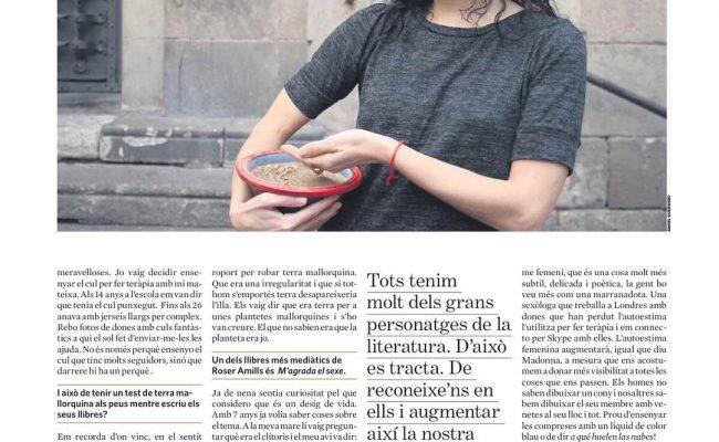 I aquí la pàgina 2 de l'entrevista que m'ha fet la gran Cristina Moreno Bonet a @el_triangle Entrevista 11/01/2017 pàg. 2   Foto d'Àngel Guerrero