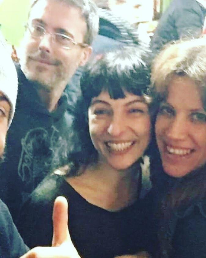 Más sonrisas de ayer en el Bar Pietro :))