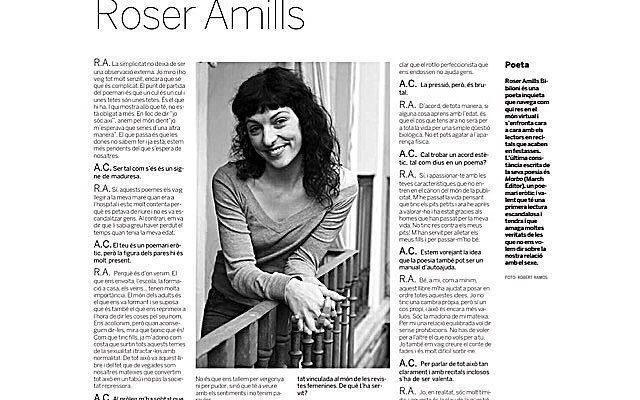 Entrevista d'@adacastells al diari Avui