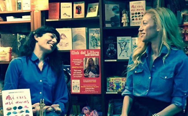 """Presentar el libro de @arantxacoca y estar con ella es: """"así es y así la amo"""" Leedla mucho!"""