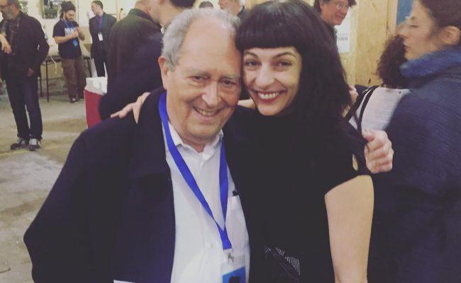El primer poeta al que he saludado en @UtopiaMarkets ha sido Osias Stutman #poesia #poetry #granpoeta
