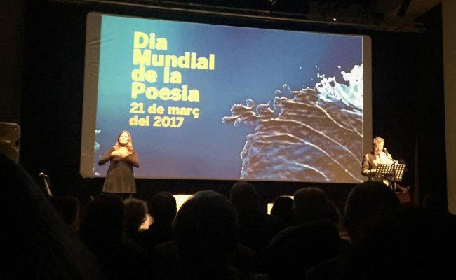 Grans paraules! Molt orgullosa de ser mallorquina i poeta @pepcerda 💕 #diamundialdelapoesia