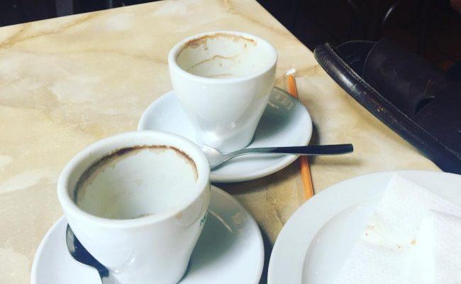 Unos cuantos cafés más tarde el proyecto no sólo seguía ahí: era mejor! Gracias #ArantxaCoca ;))