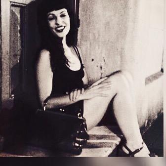 Del día que jugamos a imitar esa foto de #marilynmonroe… #buenasnoches #bonanit #goodnight ;))