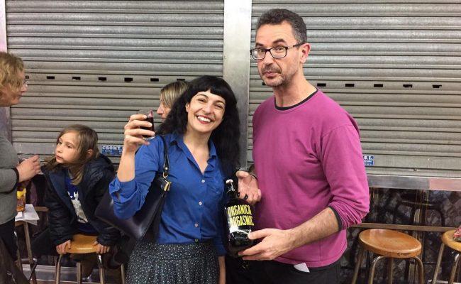 Amb #jordiribasboldu brindem per l'eventazo de la @dolorsmiquel :))