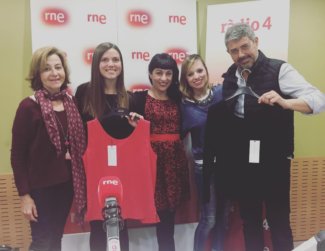 Ha estat un plaer la tertúlia a @radio4_rne amb @goyoprados @CarlaLlado @itafabregas i @MariaRabert #MimisCasual