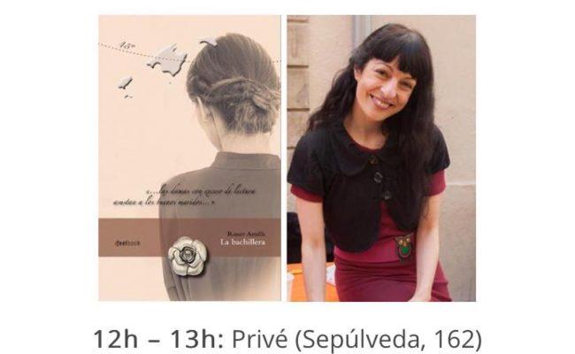 Aquest diumenge 23 d'abril em trobareu dedicant llibres matí i tarda ;)) #santjordi2017 #labachillera