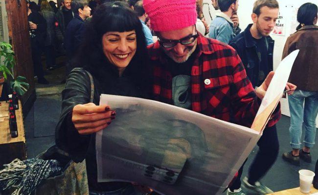 Con @juancardosa en su #vernissage de #pencilvania @pencilvania.news 😜 en @eldiluviouniversal