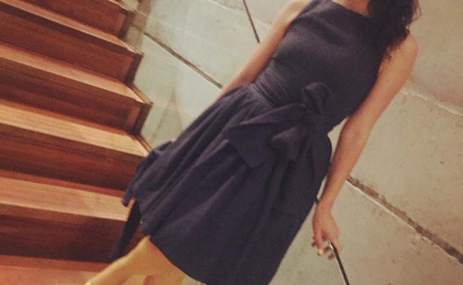 Qué os parece esta foto? Luego os cuento quién me la ha hecho ;)) Vestido de @popisima 💕