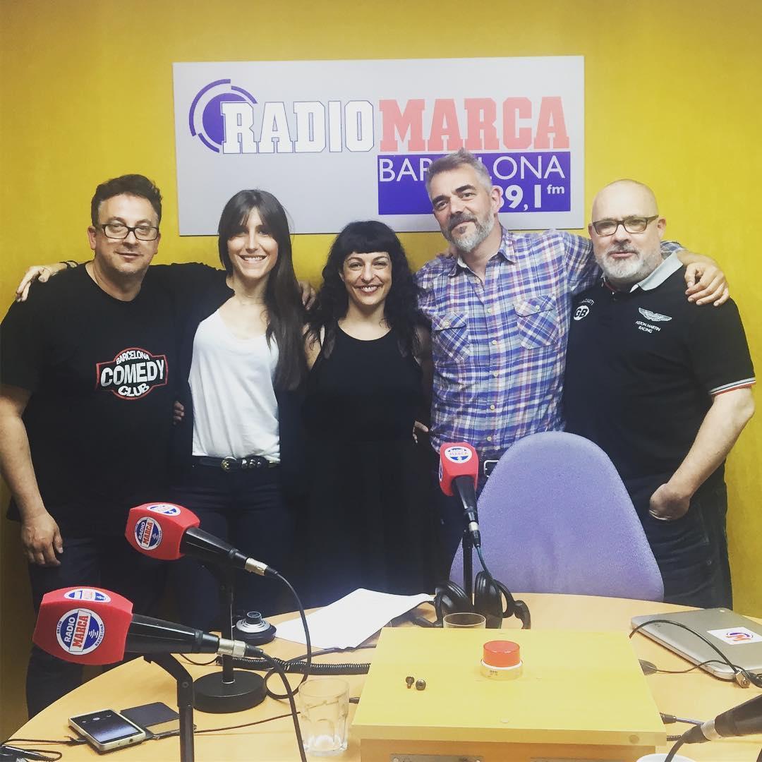 Hoy ‼️ATENTOS‼️hemos hablado en #seriadictos de Francesc Via de la serie #Love | podcast en @radiomarcabcn 89.1
