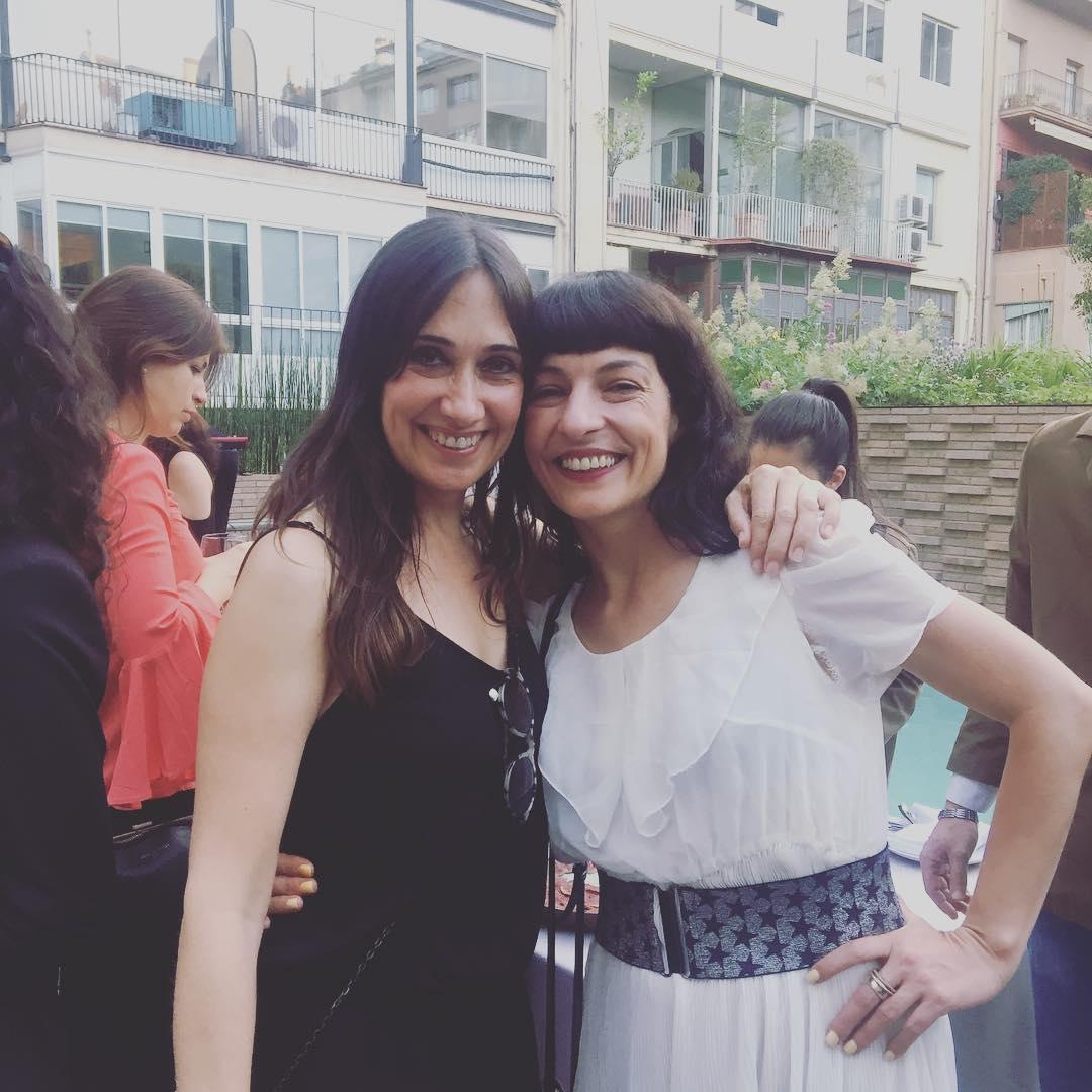 Con @annasolsona @esietebcn en #setmanaterrasses17 ;))