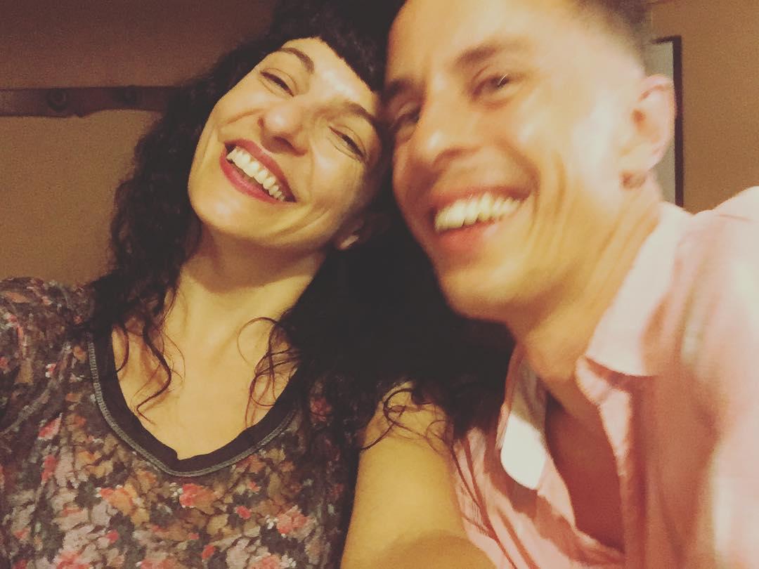 Con @lightvolutionstudio en el @canigogracia Feliz encuentro ;))