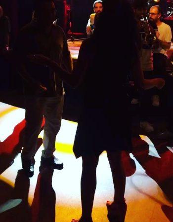 Luz y baile, @luzdegasbcn ;))