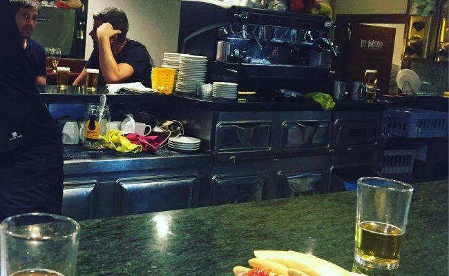 Así ha empezado la tarde del viernes :)) En el @bar_pietro