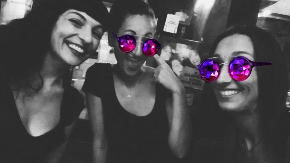 Viernes, amigas Pili Blanco y Elena Capel ;))