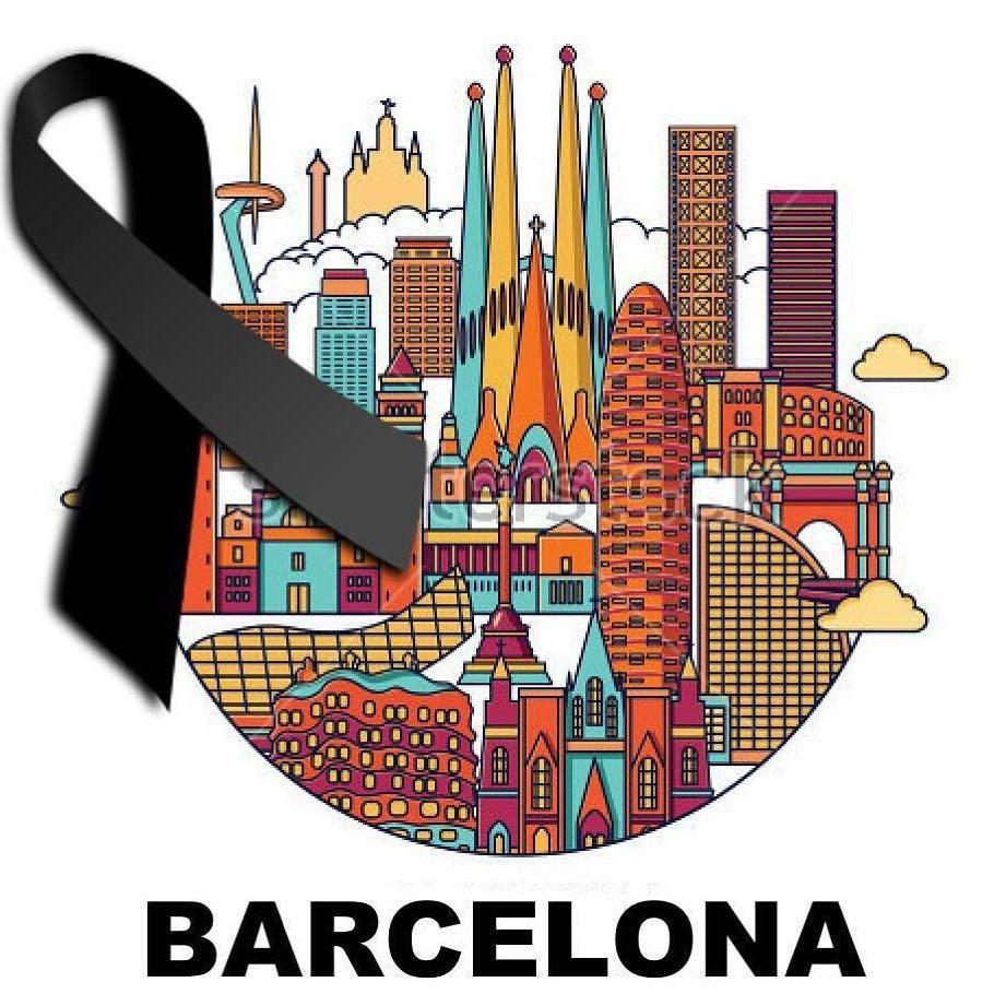 La violencia es el último recurso de los incompetentes. Asimov #stoptheviolence #stopterrorism #barcelona