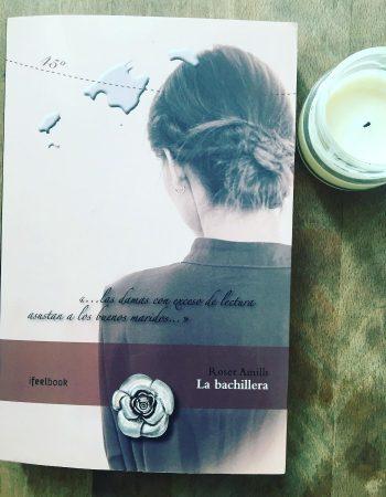 Gracias Patricia por leer #labachillera estas vacaciones y mandarme foto!!
