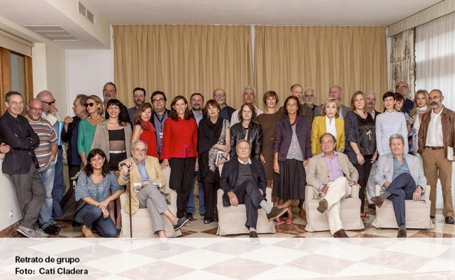 Gracis @thecladera per la foto dels participants a #conversesformentor #conversesformentor2016 i gracis a la #FundacionSantillana @barcelohotelsresorts @elpaiscultural @GrupoPRisa #mallorca #formentor #escritores