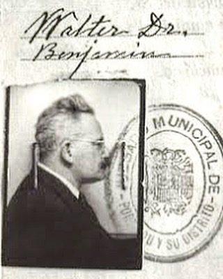 El filósofo #WalterBenjamin murió la noche del 26 al 27 de septiembre de 1940 en Port Bou, 77 años atrás #asjalacis