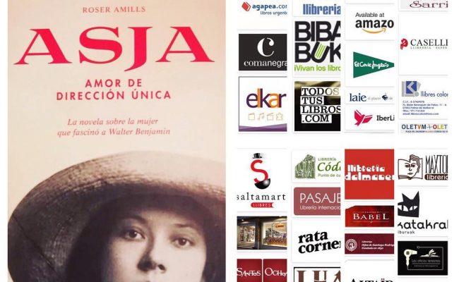 Reconoces el logo de alguna de estas librerías? Todas tienen ejemplares de #asjalacis para que le eches un vistazo! 📚💕