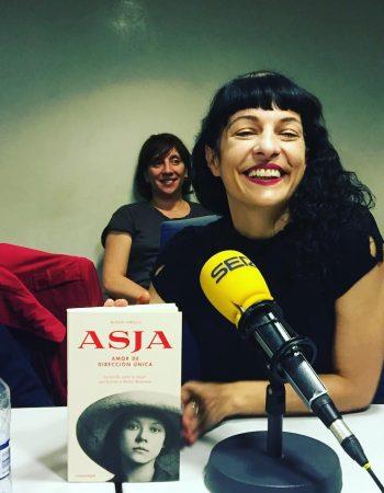 Qué bien lo he pasado hoy hablando de #asjalacis en @la_ser Gracias, #almasbonitas