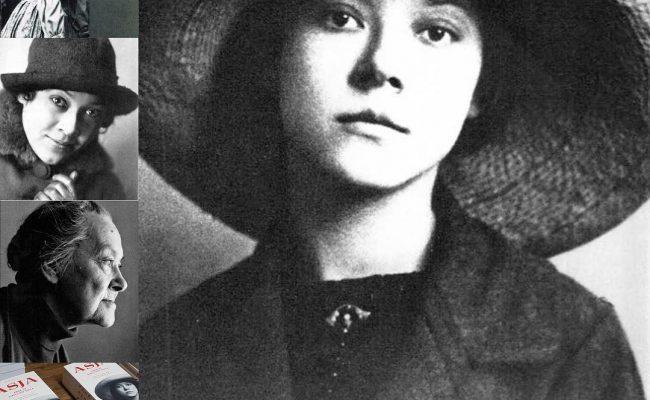 """""""Asja"""", la novela de una mujer de la que conservamos apenas 4 retratos. #AsjaLacis, léela y sabrás por qué, como lo supo #walterbenjamin"""