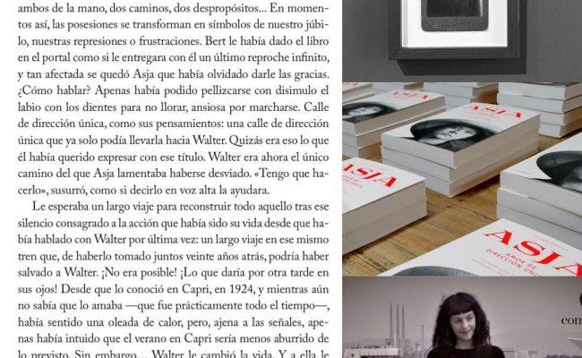 Aquí os dejo una página, la p. 33, de la novela que cuenta la historia de amor de #asjalacis & #walterbenjamin Esta tarde la presentamos en Barcelona, venid! @comanegra @abacuscoop  #comanegra #mallorquina #algaida #llibres #libro #books #bookshop #libreria #llibreria #bestseller #leermola #leeressexy #lecturas #booklover #bookstagram #cultura #regalalibros #regalallibres #novela #guerramundial #revolucionrusa
