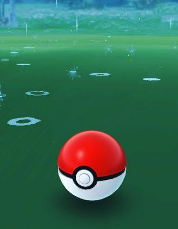 También llueve en #pokemongo :))