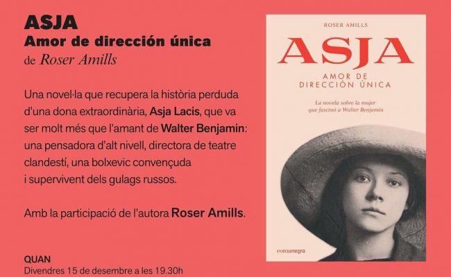 """Divendres pesento """"Asja. Amor de dirección única"""" a @CasellesLleida de #Lleida. Us esperem! 📅15 desembre ⌚️19.30h"""