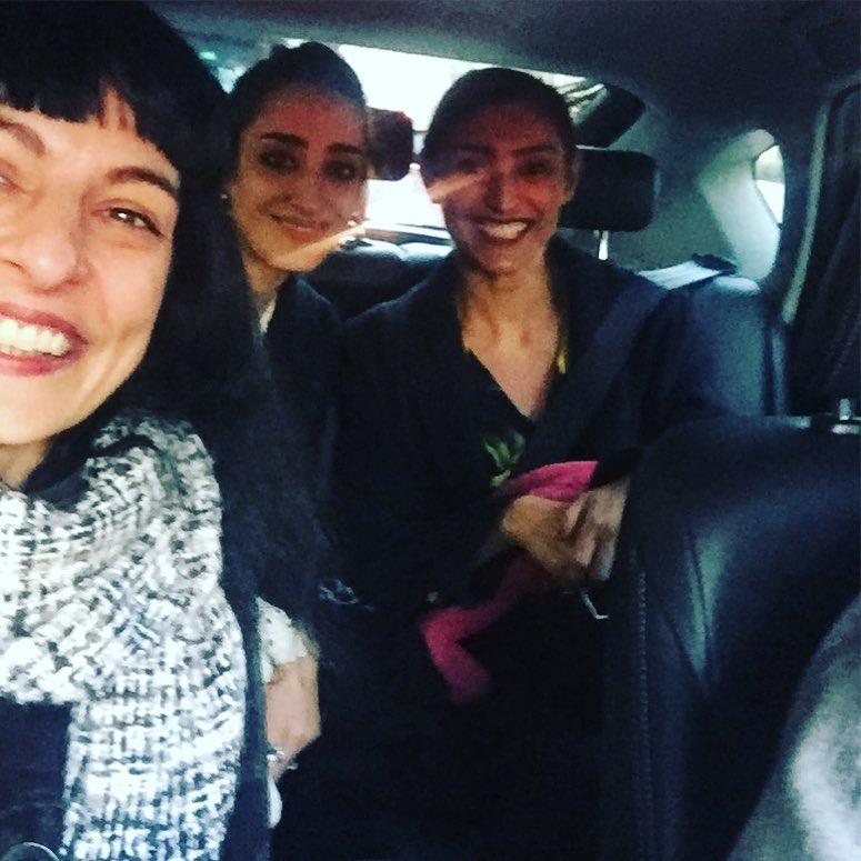 Anem cap a TV3 al @tardaobertatv3 amb @aida_molano @laura_molano per parlar de roba pel #capdany