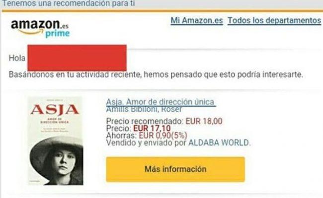 Amazon te puede enviar a casita en dos días mi nueva novela. Descubre la historia de amor de #asjalacis & #walterbenjamin y con descuento!