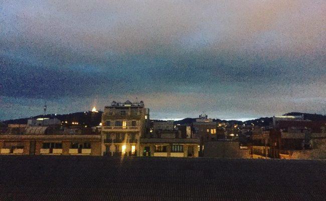 Así se pone el sol hoy en el #barridegracia