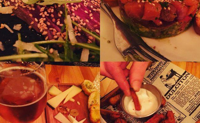 Hoy descubrimos un restaurantito delicioso en el #barridegracia, el @bar_ventuno_ :)) Muy cariñosos