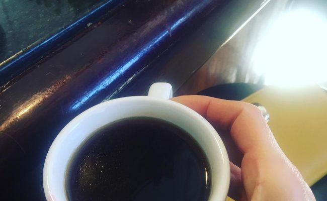 Hoy Carlos ha hecho su primer #cafeamericano :))