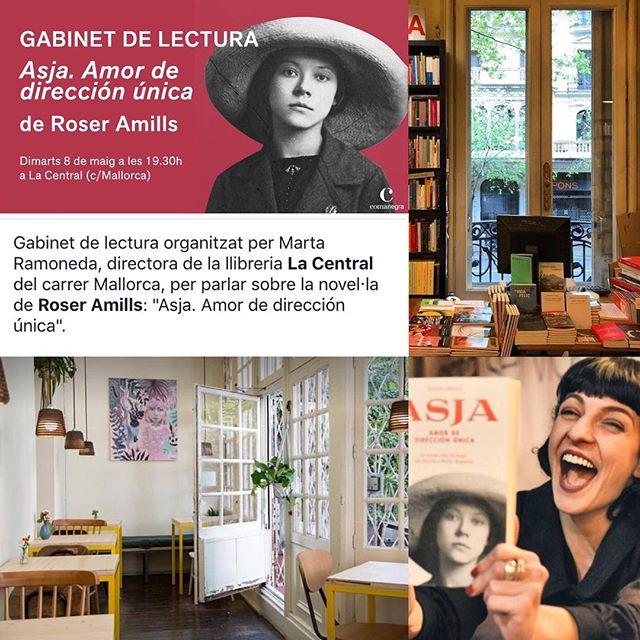 Ara, @lacentral_llibreria i #asjalacis 💕