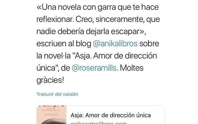 Gracias @anikalibros !!! #asjalacis & #walterbenjamin
