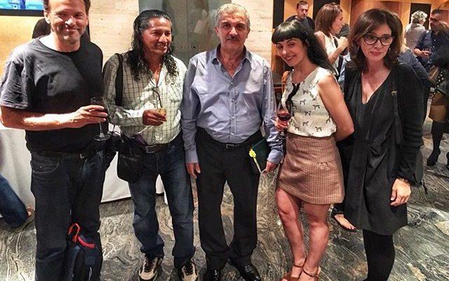 Ayer, lección de vida del #fixer #yaroubali y el fotógrafo #BernardinoHernández