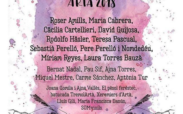 #Repost @festival_poesart Ha arribat l'hora de descobrir el cartell del PoésArt 2018 amb tots els poetes i músics participants! I institucions col·laboradores! I això no és res, perquè encara us hem de desvelar totes les sorpreses i novetats que ens depara aquesta edició del festival! La cal·ligrafia i l'aquarel·la del cartell és de Noraya Minnick i el disseny gràfic de Nina Mars. De poetes ens acompanyaran Roser Amills, Plaer de Maria,  Cäcilia Garanga Cartellieri, David Guijosa, Rodolfo Häsler, Sebastià Perelló Arrom, Pere Perelló Nomdedéu, Teresa Pascual Soler, Miriam Reyes, Laura Torres Bauza, Pau Sif, Aina Torres Rexach, Bernat Nadal, Miquel Mestre, Antònia Tur i Carme Sanchez´. I tindrem la música d'El pèsol feréstec, Joana Gomila i Laia Vallès, SomVinil, Lluís Gili Ferrer, @TremolArtà, Estol de Xeremiers d'Artà i Maria Danus. I a més comptarem amb la presència dues  conselleres de cultura: Laura Borràs i Fany Tur, de Bel Olid, presidenta de l' Associació d'Escriptors en Llengua Catalana, i de la col·laboració de la Institució Lletres Catalanes, de l'Any Llompart, amb Pilar Arnau, de la Fundació Mallorca Literària , de la Fundació Aina María Lliteras i molts altres organismes i institucions.  Vos esperam els dies 19, 20 i 21 de juliol a Artà! #poesia #poetry #festival #arta #mallorca #estiu #poetrygram #poetryislife #poetryislife #poetrycommunity #poetryisnotdead #poetry_addicts #poetryofinstagram