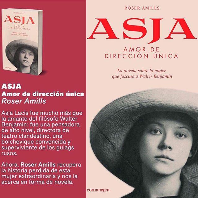 Durante el verano de 1924, #asjalacis y #walterbenjamin se enamoran en Capri. Báñate con ellos, toma el sol y enamórate leyendo esta novela a su lado ;))