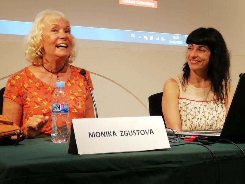 Cerdanyola Info   Les escriptores Monika Zgustova i Roser Amills han conversat al MAC